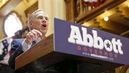 Gov. Greg Abbott announced in July at Sunset Station that he will run for re-election.