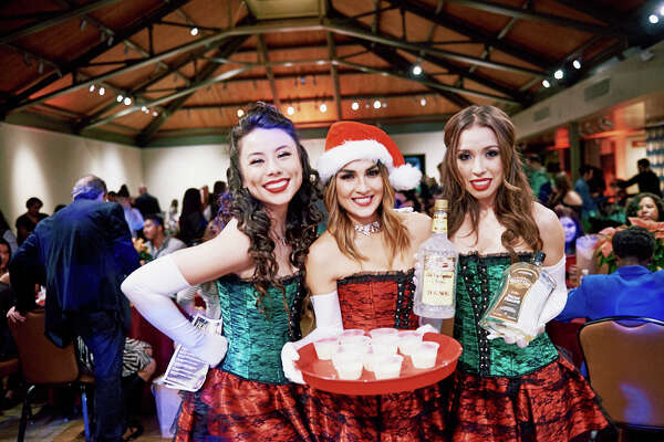 A stylish crowd came ready to party for Dulce! A Night of Desserts, Drinks & Decadence at the Jack Guenther Pavillion at the Briscoe Western Art Museum on Friday night, Dec. 1, 2017.