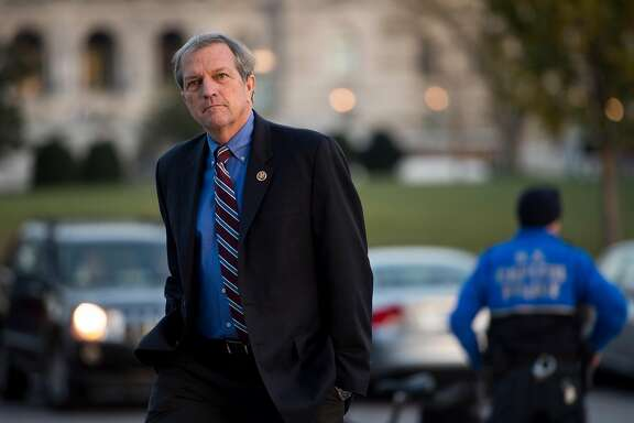 UNITED STATES - DECEMBER 10: Rep. Mark DeSaulnier, D-Calif., walks up the House steps to the Capitol for a series of votes on Thursday, Dec. 10, 2015. (Photo By Bill Clark/CQ Roll Call)