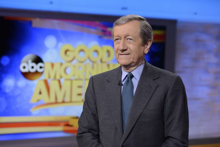 "Brian Ross on ABC's ""Good Morning America,"" on Jan. 1, 2015. Ross has been suspended for four weeks without pay for the network's incorrect Michael Flynn report. Photo: Lorenzo Bevilaqua/Getty Images"
