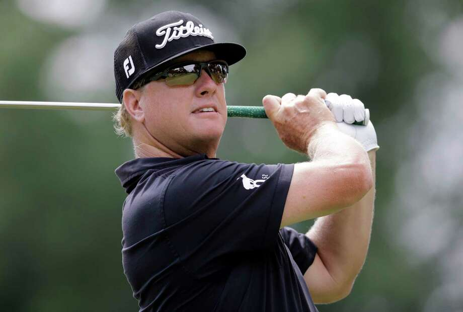 FILE - In this Aug. 6, 2017 file photo, Charley Hoffman tees off on the third hole during the final round of the Bridgestone Invitational golf tournament at Firestone Country Club, in Akron, Ohio. Charley Hoffman is closing in on making the Presidents Cup team for the first time. He has reached as high as No. 20 in the world, the best of his career. He is headed back to the Tour Championship. (AP Photo/Tony Dejak, File) Photo: Tony Dejak, STF / Internal
