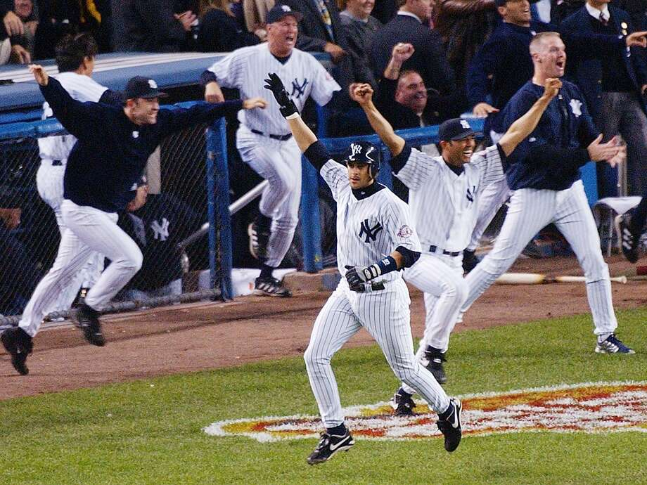 The Yankees have tapped former third baseball Aaron Boone to be their next manager. Photo: Associated Press File Photo / AP2003