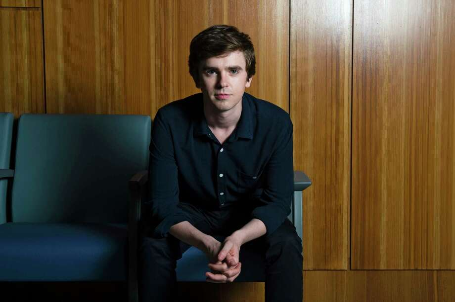 """Freddie Highmore is the star of  """"The Good Doctor,"""" a surprise hit for ABC. The medical drama focuses on Shaun Murphy, a doctor on the autism spectrum. Photo: CHONA KASINGER, STR / NYTNS"""