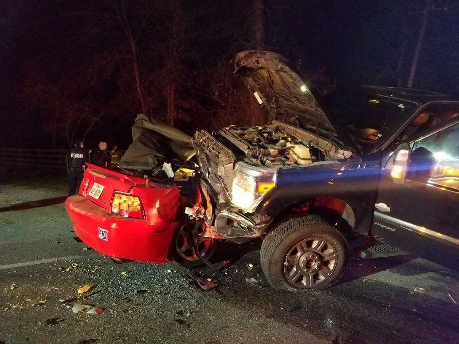 A 40 year old woman died in a fatal crash Friday night in 21000 Block of FM 1097 in Montgomery Photo: Submitted Photo