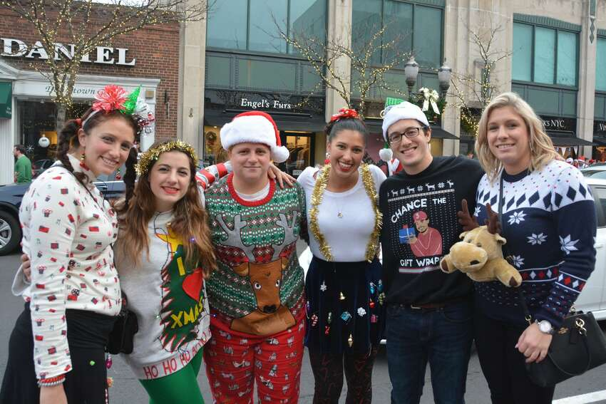 Chance the gift wrapper and a reindeer kangaroo (?)Santas swarmed the streets of Stamford during the annual SantaCon bar crawl on December 2, 2017. Revelers dressed in holiday garb took advantage of drink specials at participating bars. Were you SEEN? Click here to find out.