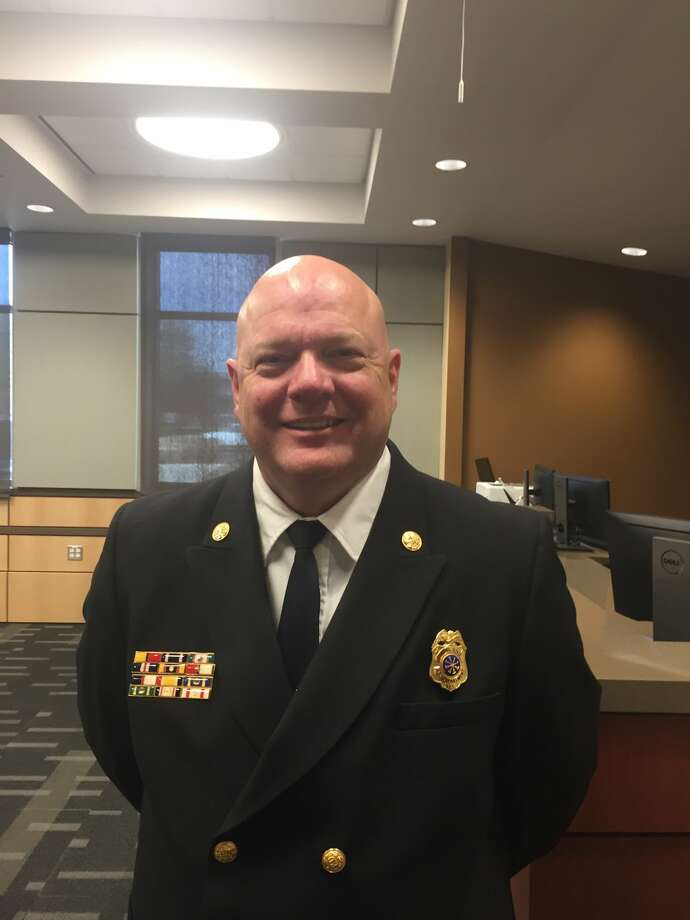 Charles Blumenauer, a 20-year veteran of the department, has been named fire chief for the Midland Fire Department. Photo: Midland Reporter-Telegram