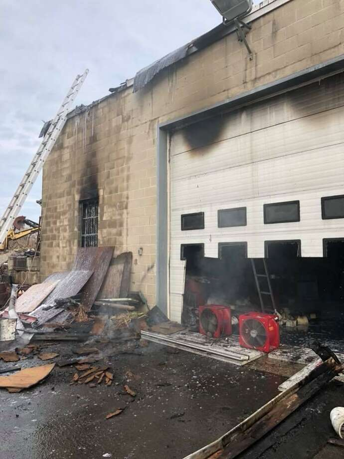 Crews battled a fire on Paul Street on Saturday afternoon in Bethel. Photo: / Courtesy Stony Hill Volunteer Fire Department