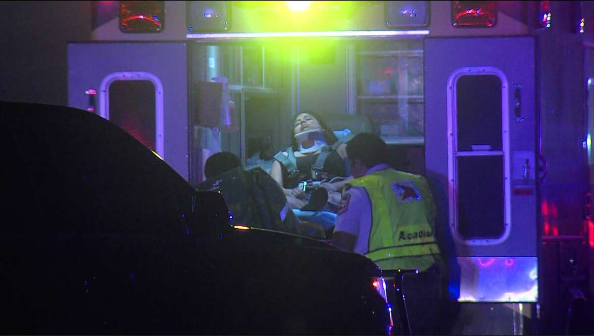 A 17-year-old male is in the hospital in critical condition, and Bexar County Sheriff's deputy is suffering non-life threatening injuries after the teenage suspect attempted to run over a him early Sunday morning, Dec. 3, 2017.