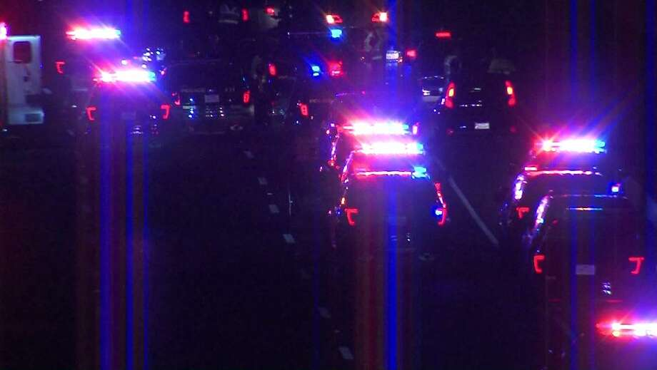 Road rage may have the cause of a woman being shot in the head Saturday night, while she was riding in a vehicle down US Highway 281, Dec. 3, 2017. Photo: Pro 21 Video