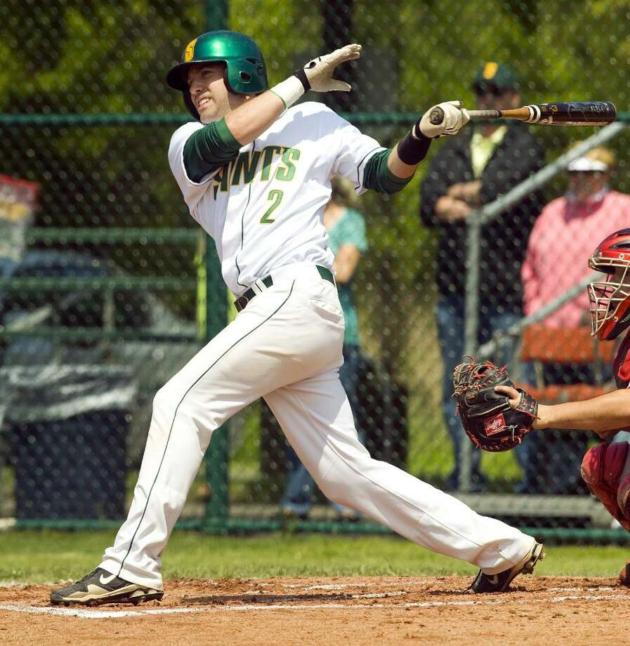 Dan Paolini, of Stratford, is a baseball player at Siena College. This year he hit 26 home-runs, a record for the school and the second-most total hit by a college baseball player in the nation this year. He and eight other college batters are invited to compete to hit the most consecutive home-runs at the College Home Run Derby at Rosenblatt Stadium in Omaha, Neb on July 7. Photo: Contributed Photo / Connecticut Post Contributed