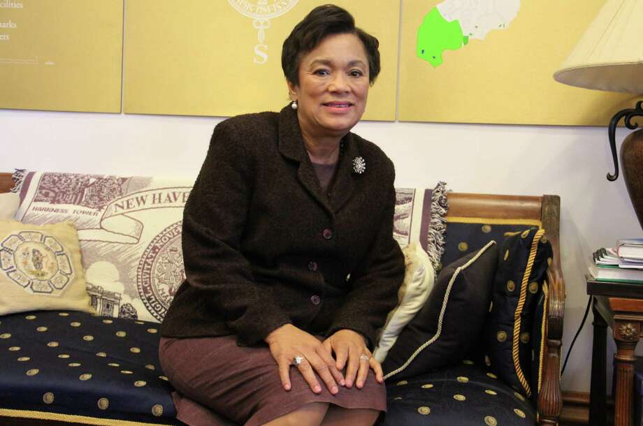 New Haven Mayor Toni Harp inside her office on Friday, Dec. 1, at City Hall in New Haven. Harp is set to start her third term as mayor in January. Photo: Esteban L. Hernandez / Hearst Connecticut Media