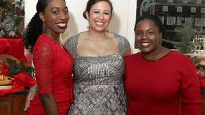 Were you Seen at the Girl Friends Inc.'s 25th  annual Paint the Town Red fundraiser on Sunday, December 3, 2017 at the Glen  Sanders Mansion in Scotia?