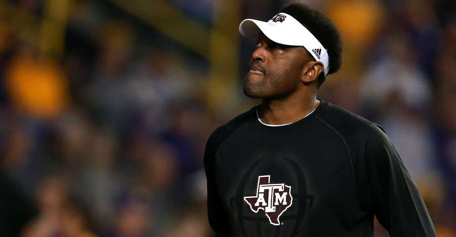 Kevin Sumlin is reportedly UCF's No. 1 candidate to fill the school's head coaching vacancy. Photo: Sean Gardner/Getty Images