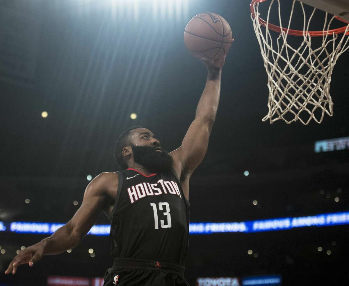 Rockets guard James Harden will get another shot at the Utah Jazz on Thursday night. The last time he faced them he scored a career-high 56 points.