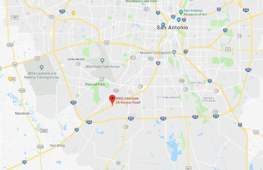 The victim, who hasn't been identified, left the southbound lanes of the 9000 block of Interstate 35 South around 6:20 p.m. for an unknown reason. Photo: Google Maps