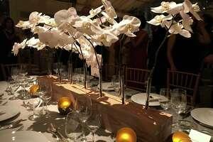 "Scenes from ""Luminous,"" the Menil Foundation's 30th anniversary gala, on Saturday, Dec. 2, 2017."