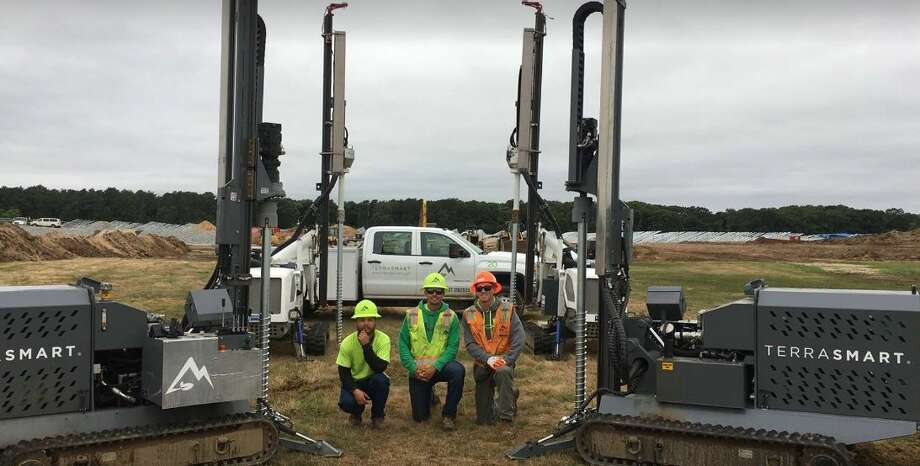 TerraSmart broke ground over the summer on Shoreham Solar Commons, a Long Island solar farm that will be the second largest in the state when completed, generating enough electricity for 3,500 homes. Photo: Rulison, Larry, TerraSmart