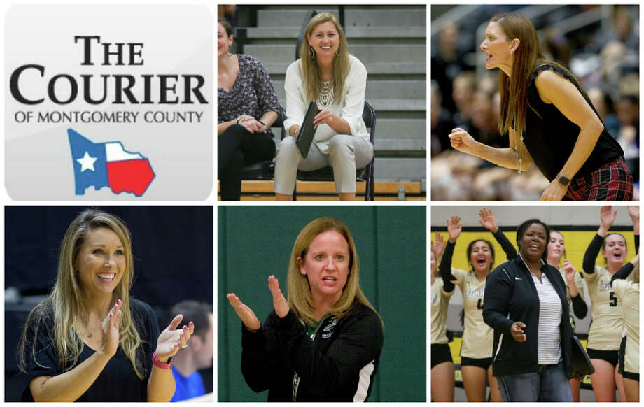 Willis' Megan Storms, The Woodlands' Terri Wade, College Park's Candice Gibson, TWCA's Kori Parker and Conroe's Charvette Brown are The Courier's nominees for Coach of the Year.
