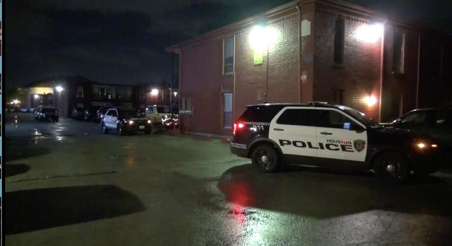 Police responded to a shooting at Green Oak Village apartments early Monday morning.