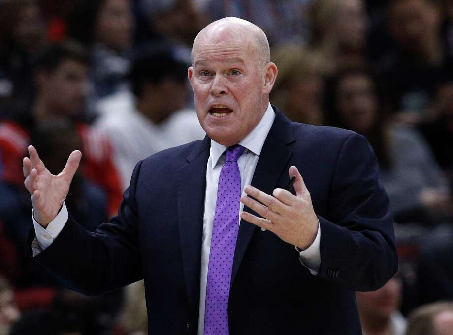 Steve Clifford coached in places like Saint Anselm, Boston U. and Adelphi before plying his trade as an assistant on an NBA bench. Photo: Jim Young /Associated Press / FR171507 AP