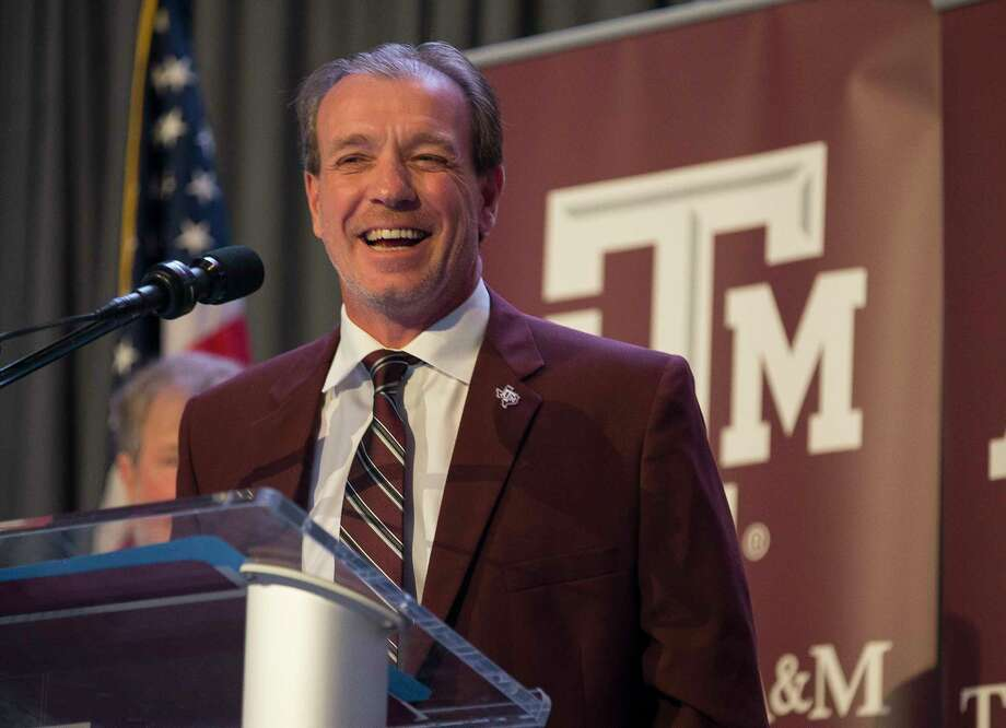 New Texas A&M University head football coach Jimbo Fisher talks during a press conference at the school's Hall of Champions at Kyle Field, Monday, Dec. 4, 2017, in College Station. Photo: Mark Mulligan, Houston Chronicle / © 2017 Houston Chronicle