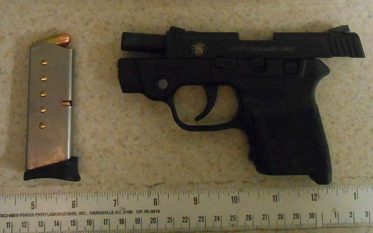 A gun was discovered in carry-on luggage on Dec. 3, 2017, at the Albany County Airport TSA security checkpoint.