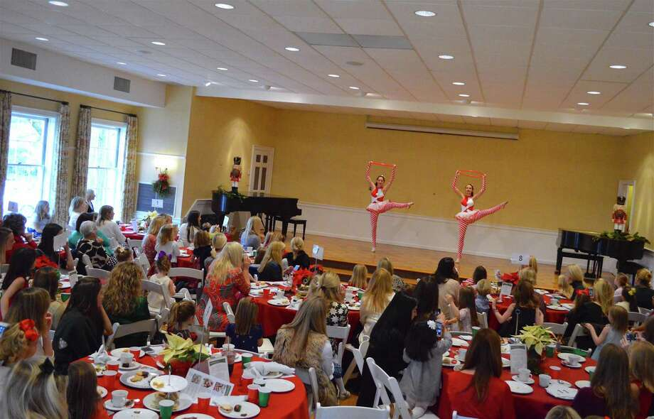 There were 150 attendees at the Darien Community Association's Mother-Daughter Nutcracker Tea, Sunday, Dec. 3, 2017, in Darien, Conn. Photo: Jarret Liotta / For Hearst Connecticut Media / Darien News Freelance