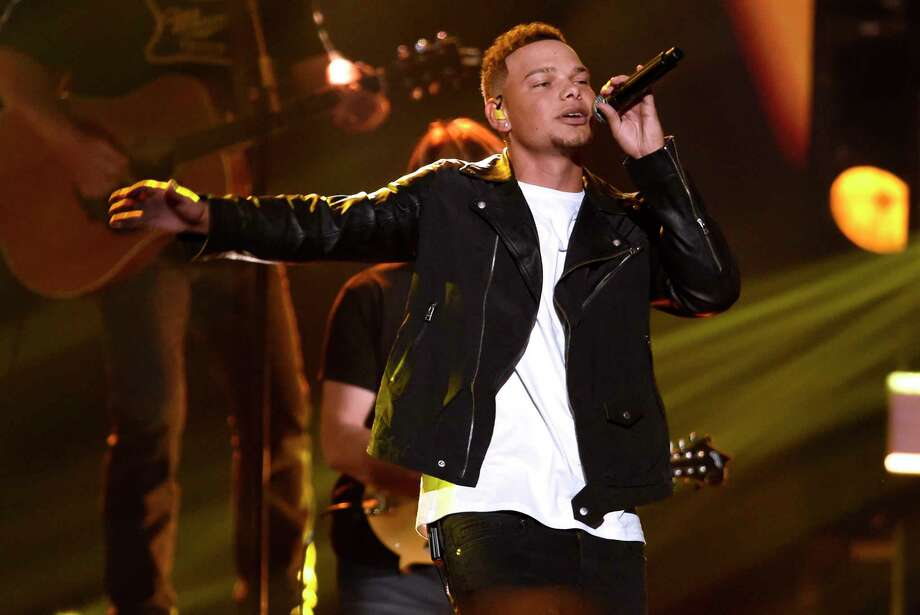 "Kane Brown will perform Saturday, Dec. 9, at Mo's Place, 21940 Kingsland Blvd. Above, he performs ""Heaven South"" at the 51st annual CMA Awards at the Bridgestone Arena on Nov. 8, 2017, in Nashville, Tenn. Photo: Chris Pizzello, INVL / 2017 Invision"