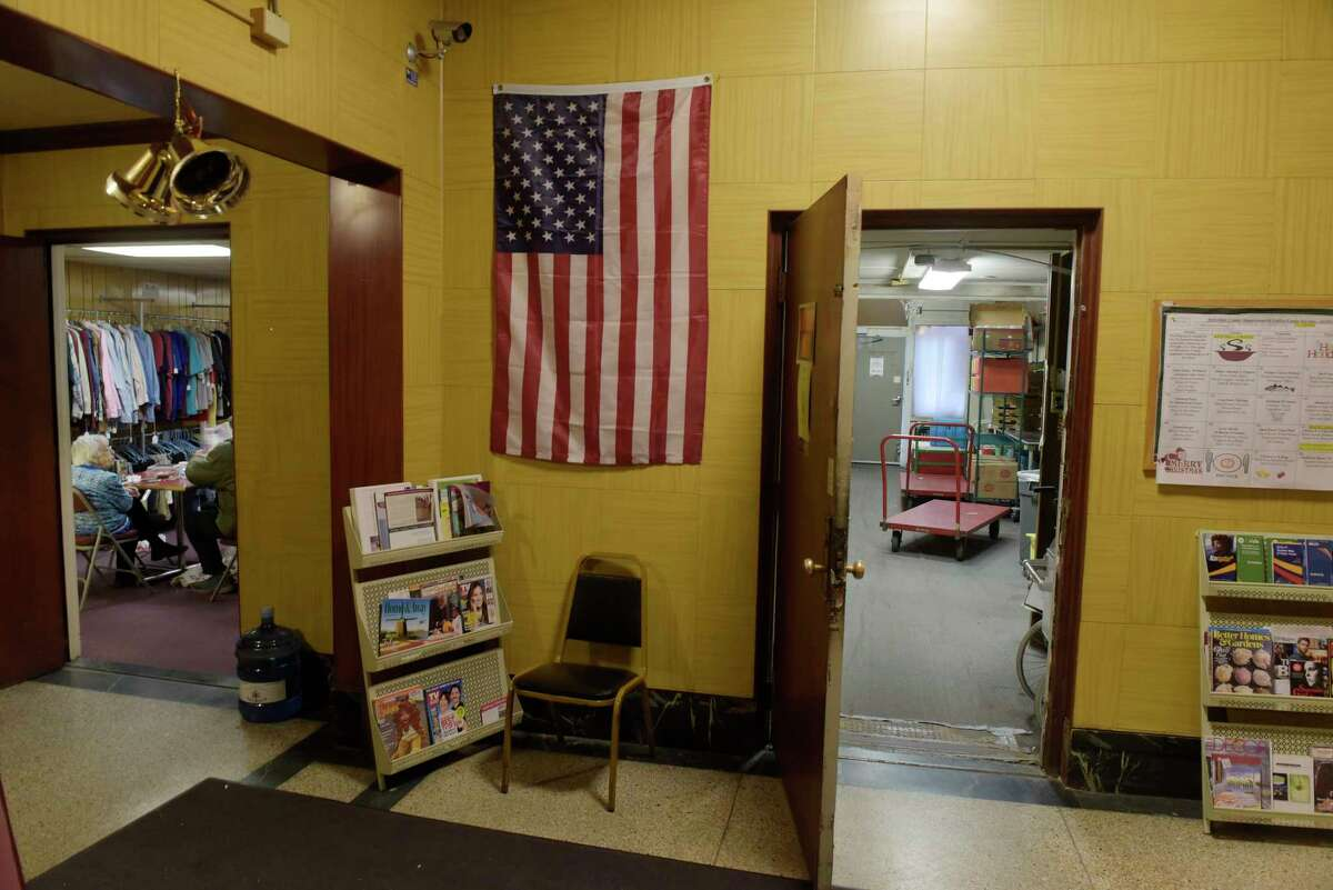 A view inside the Troy Area Senior Services Center on Third St., on Monday, Dec. 4, 2017, in Troy, N.Y. (Paul Buckowski / Times Union)