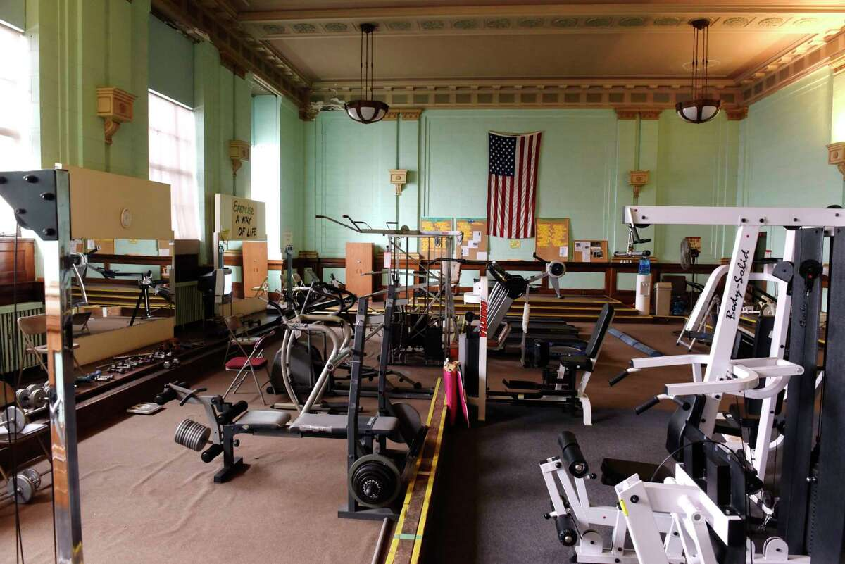 A view of the gym at the Troy Area Senior Services Center on Third St., on Monday, Dec. 4, 2017, in Troy, N.Y. (Paul Buckowski / Times Union)