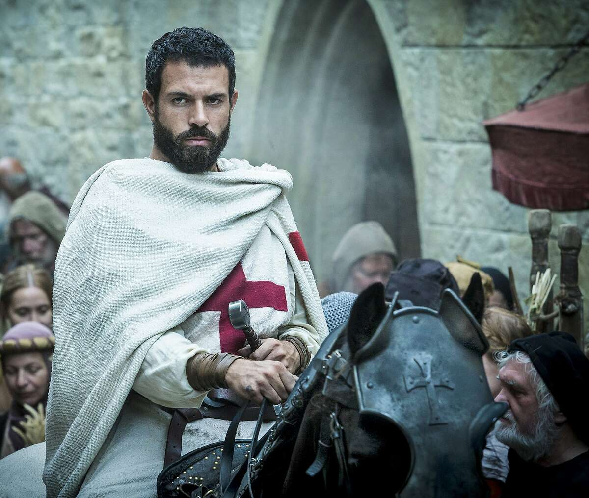The Knights Templar in pop culture Knightfall Tom Cullen, who once courted Lady Mary on