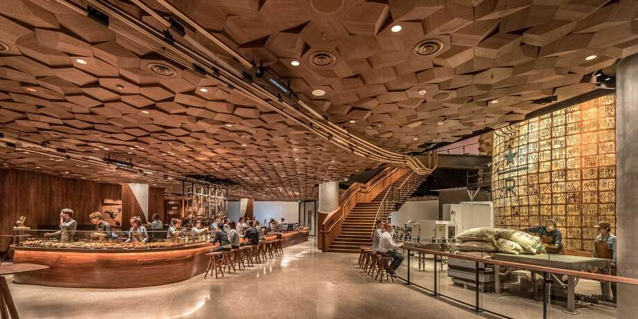 The new Starbucks Roastery in Shanghai. Photo: MATT GLAC, Images Courtesy Of Starbucks