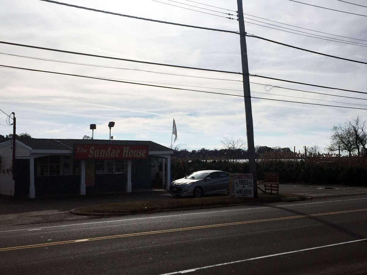 (The Sundae House in Milford trades in ice cream for trees)....
