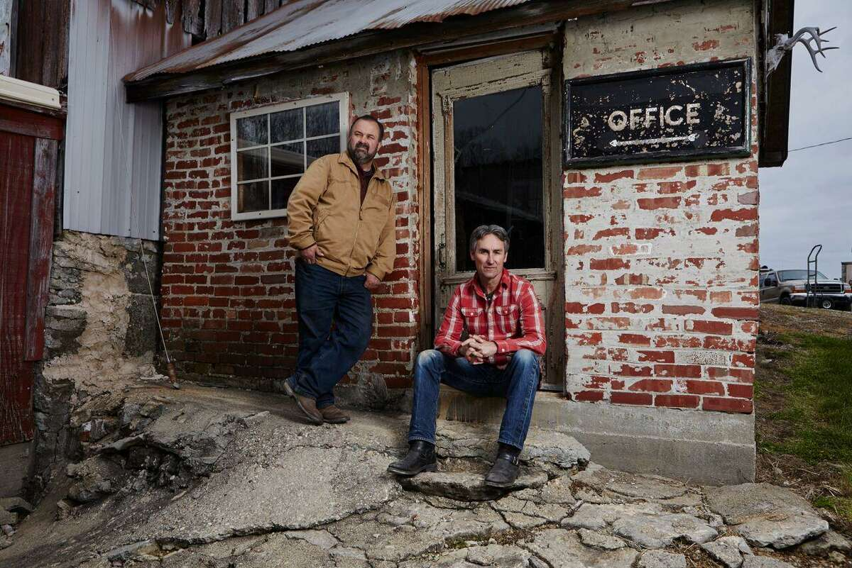 """""""American Pickers"""" Mike Wolfe and Frank Fritz will be looking for rusty gold in Texas in December and January."""