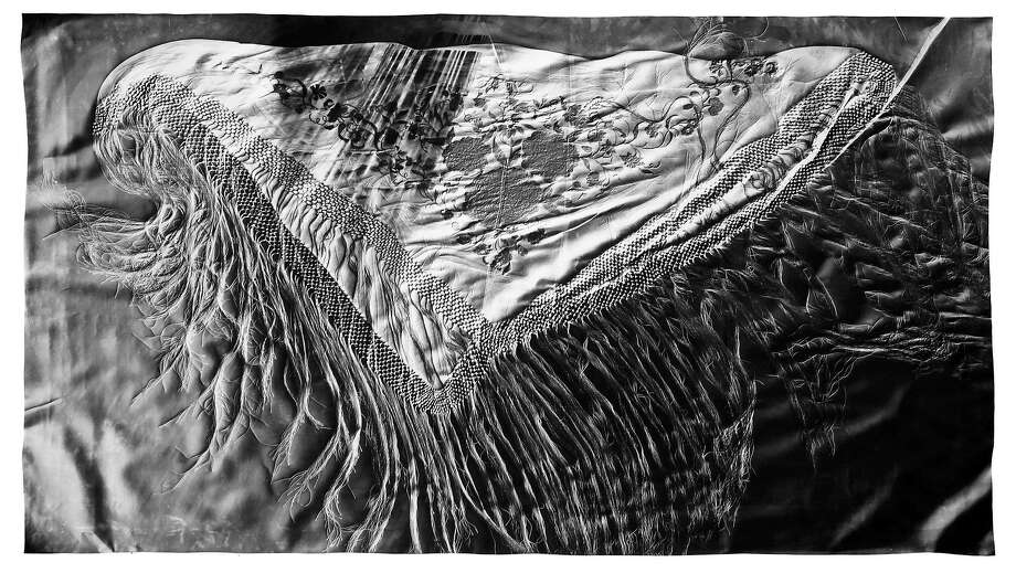"""Artifact #1"" is one of the photograms in the exhibit ""Witness Mark"" by Klea McKenna. Photo: Courtesy Of EUQINOMprojects"