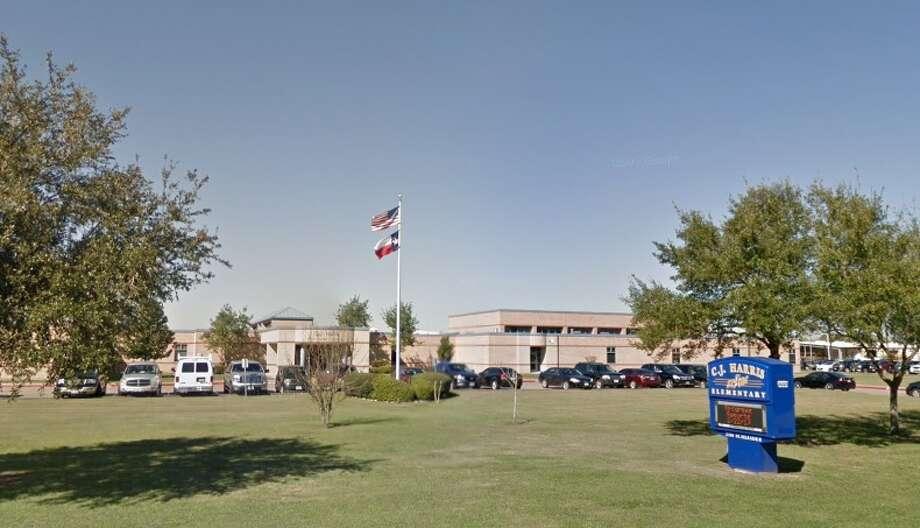 CJ Harris Elementary School in Pearland Photo: Google Earth