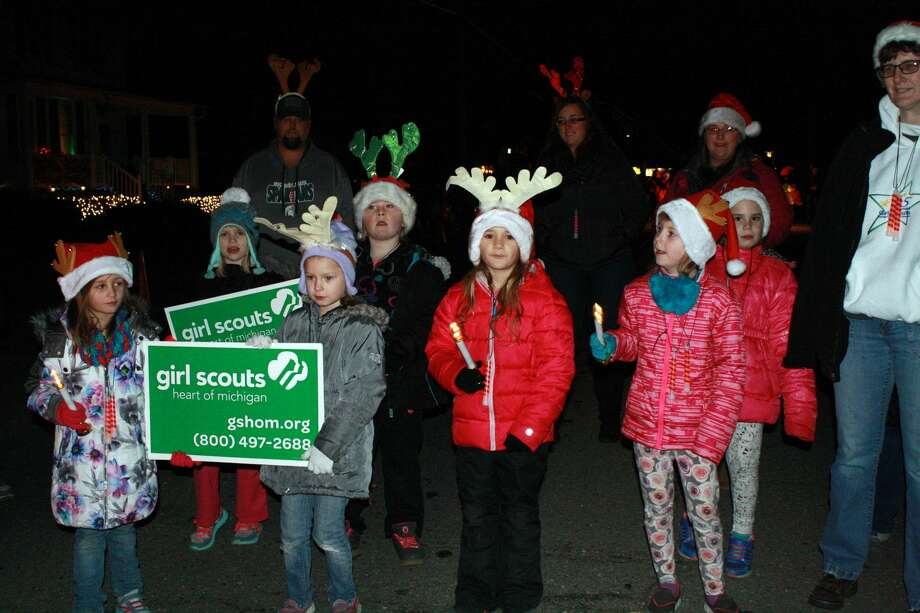 The city of Harbor Beach hosted its annual Christmas parade Saturday night. Photo: Rich Harp/For The Tribune