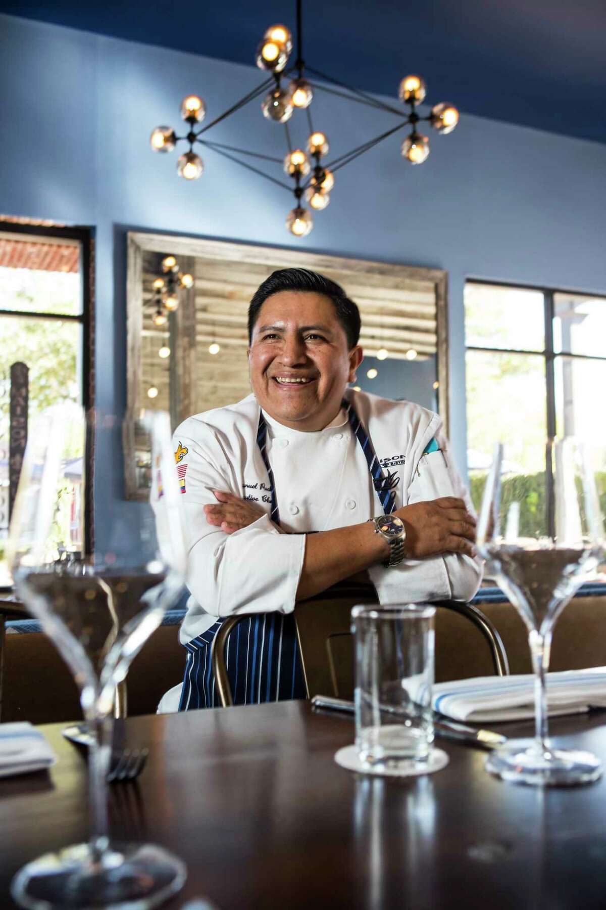Executive chef Manuel Pucha poses for a portrait at Maison Pucha Bistro on Friday, Nov. 24, 2017, in Houston. ( Brett Coomer / Houston Chronicle )