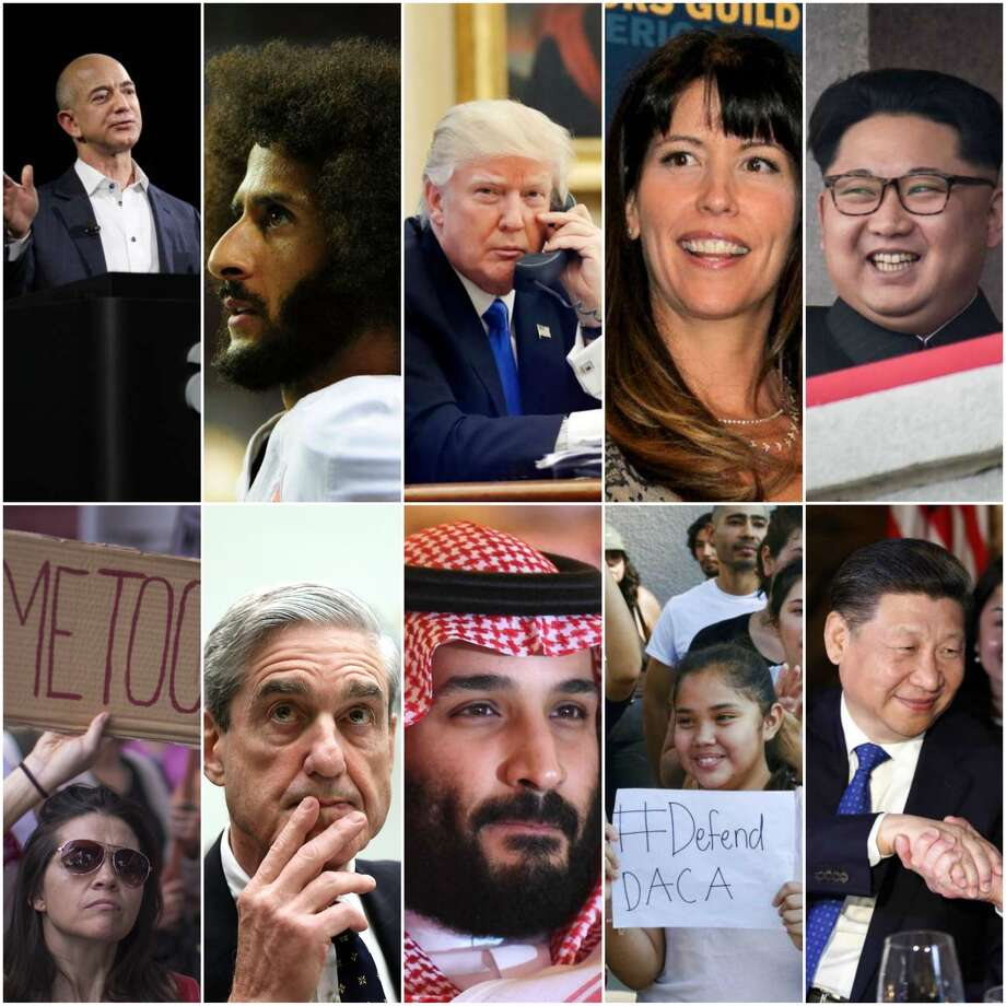 Here is this year's TIME 2017 Person of the Year Shortlist.>>> See Time's most influential people from last year.