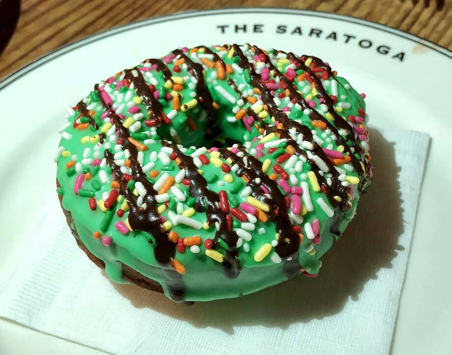 The Saratoga: A doughnut for dessert. Photo: Michael Bauer, The Chronicle