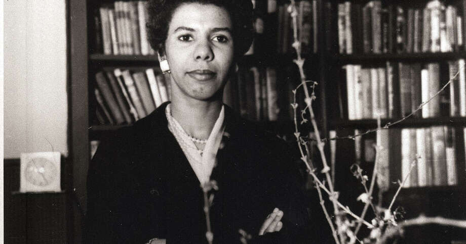 Lorraine Hansberry in a 1959 AP photo.