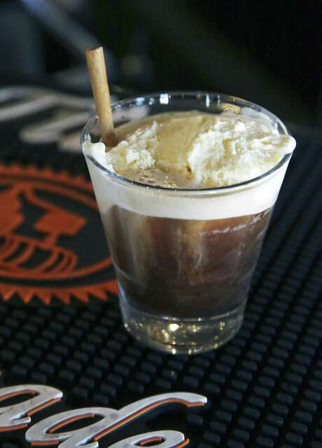 The 301 Float at Bar 301 has a scoop of vanilla ice cream paired with whiskey. Photo: Tom Reel /San Antonio Express-News / 2017 SAN ANTONIO EXPRESS-NEWS