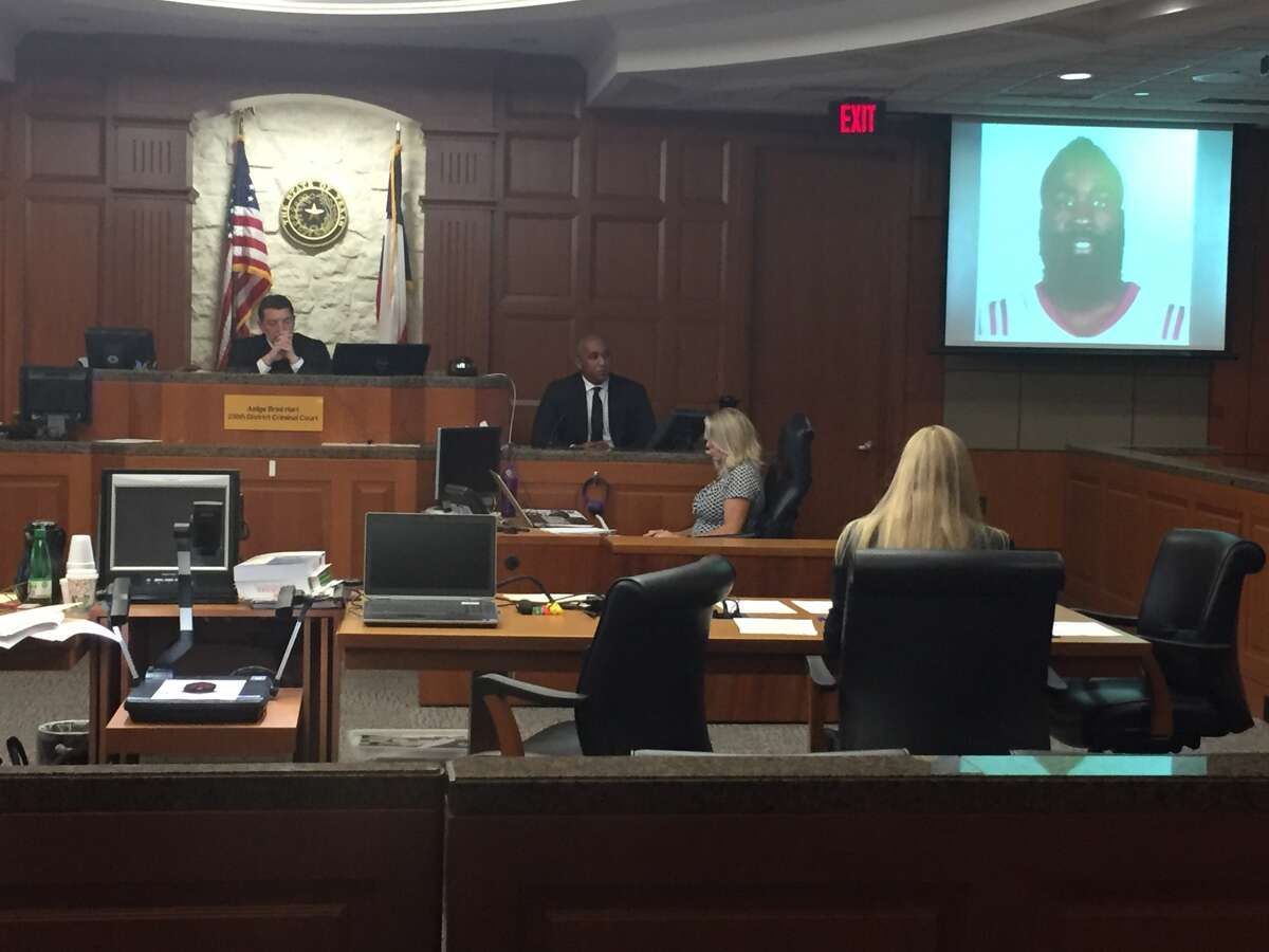 Moses Malone Jr., 38, testifies against Darian Blount for an alleged assault in 2016.