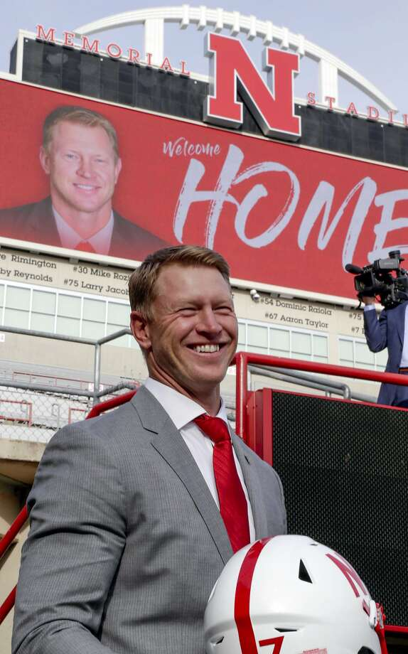 Scott Frost will be quite familiar with his coaching staff at Nebraska. Photo: Nati Harnik, Associated Press