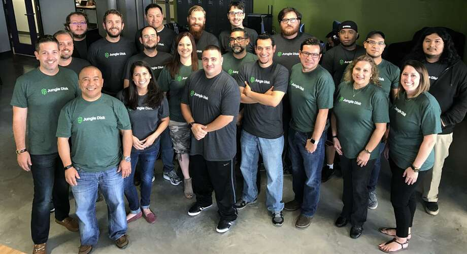 Data security and backup provider Jungle Disk has nearly 30 employees all in San Antonio. Rackspace acquired the company in 2008, and Jungle Disk in 2016 spun out on its own. The company offers a data security suite designed for small businesses. The company has acquired SafetyNet, a way to back up QuickBooks Online, Jungle Disk is announcing Tuesday. Photo: Courtesy Photo