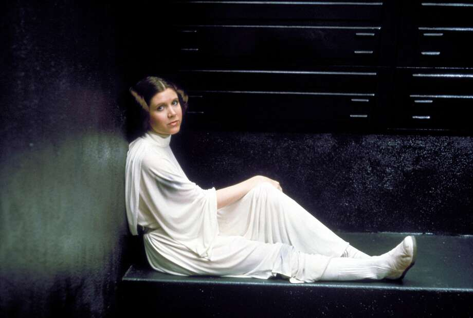 "Carrie Fisher brought nerve, grit and humor to her role as Princess Leia in ""Star Wars."" Photo: Century Fox/REX/Shutterstock, AP"