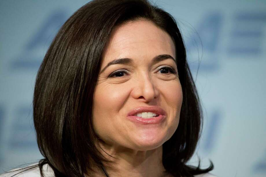 Facebook Chief Operating Officer Sheryl Sandberg speaks at the American Enterprise Institute in Washington. I Photo: Alex Brandon, STF / Copyright 2017 The Associated Press. All rights reserved.