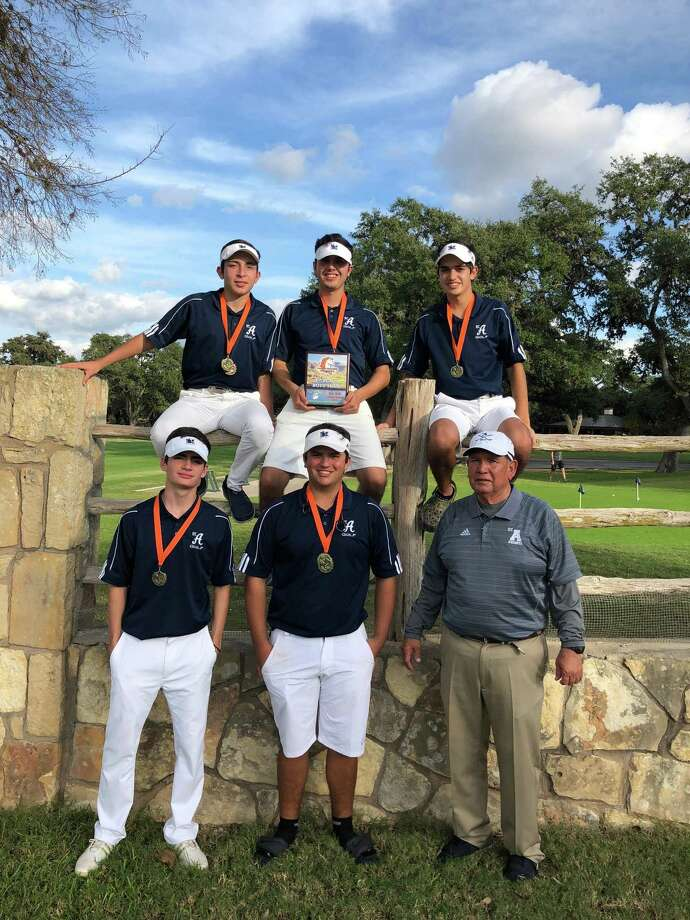 The St. Augustine golf team won the NISD Brandeis Fall Open Monday with a team score of 302. Photo: Courtesy Photo