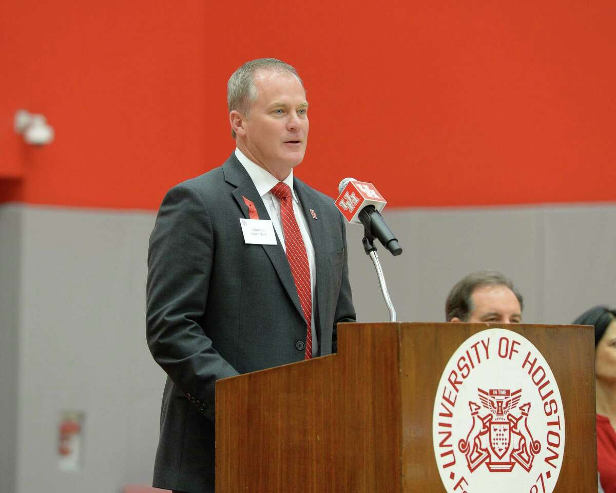 Hunter Yurachek and Arkansas agreed to a five-year contract that will nearly double his salary to $850,000 annually.