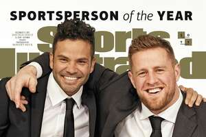 Sports Illustrated has named the Astros' J.J. Watt and the Texans' J.J. Watt as Sportspersons of the Year for 2017. The magazine will hit newsstands later this month.